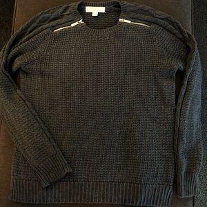 Michael Kors zipper sweater.